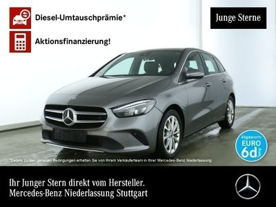 gebraucht Mercedes B200 d Navi Premium LED Laderaump Spurhalt-Ass