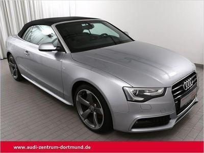 gebraucht Audi A5 Cabriolet A5 Cabriolet 2.0TDi 3xS line/19Zoll/Kopfraumh.