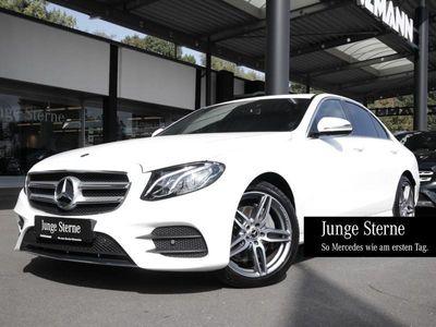 gebraucht Mercedes E220 4M AMG Navi LED Schiebedach Kamera