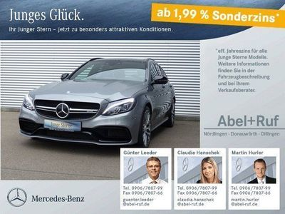 gebraucht Mercedes C63 AMG AMG S T Distr. Comand 360°- Pano NP: 122 TE