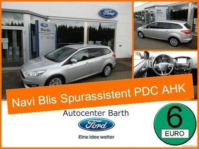 gebraucht Ford Focus Turnier 1.5 TDCi Business Navi Spurh AHK