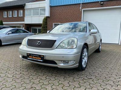 gebraucht Lexus LS430 Basis/Klima/Navi/Leder/Autom./PDC/TÜV NEU