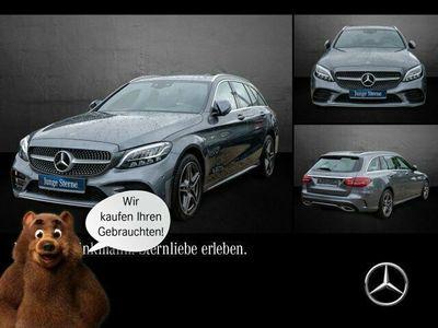 gebraucht Mercedes C300 de T-Modell AMG LINE/SHZ/LED/AHK KeylessGo