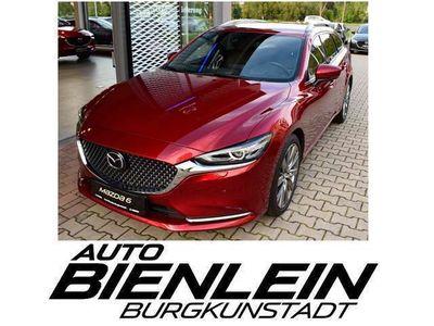 gebraucht Mazda 6 2.5 194PS 6AG Sports-Line SLPlusPaket Nappaleder