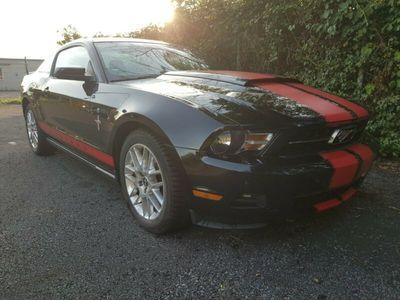 gebraucht Ford Mustang LPG 3.7 V6 227KW Schwarz/Schwarz
