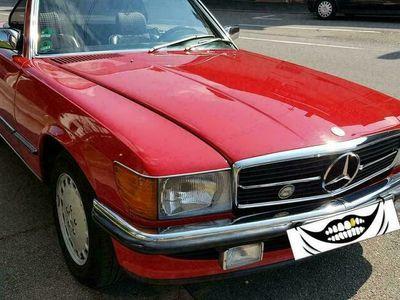 gebraucht Mercedes S300 MercedesSL (R107), Bj. 1987, 170.500 ... als Cabrio/Roadster in Gärtringen