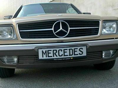 gebraucht Mercedes 380 SEC Rarität 74.000 km (!)