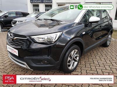gebraucht Opel Crossland X Design 1,2l110PS Navi|LM-Felgen|SHA|PDC