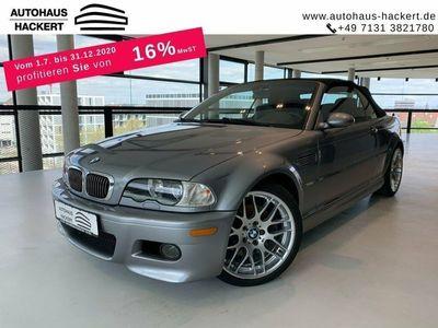 gebraucht BMW M3 Cabriolet Handschalter Bi-Xenon Top-Zustand ***