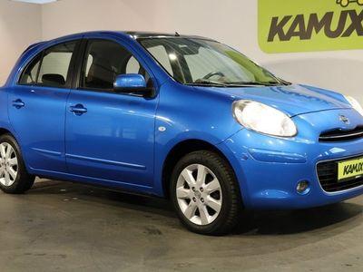 gebraucht Nissan Micra 1.2 Tekna +Navi +Teil-Leder +Pano +GRA +Isofix