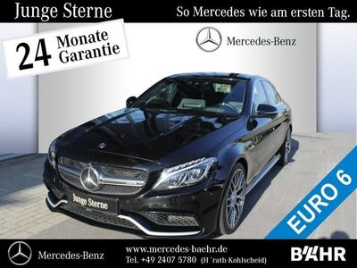 gebraucht Mercedes C63 AMG AMG S Comand/ILS/Driver'sPackage/Burmester
