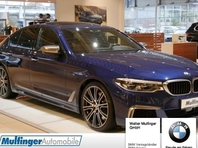 gebraucht BMW M550 i xDrive Limousine HUD GSD DrAs+ KomfSi Harman