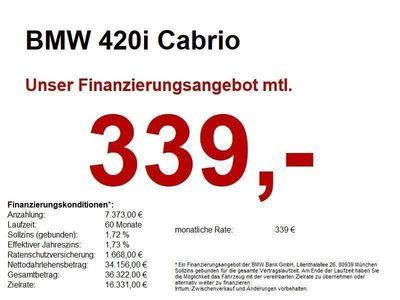 gebraucht BMW 420 i Cabrio