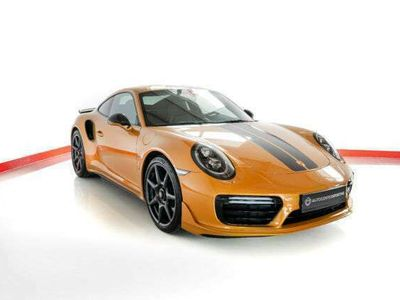 gebraucht Porsche 911 Turbo S 991 991 Exclusive Carbon Räder Lift Burm