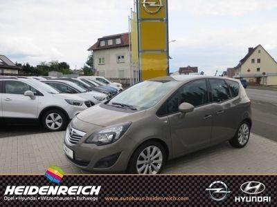 gebraucht Opel Meriva B Innovation Leder Navi Rückfahrkam. PDCv+h LED-hinten LED-Tagfahrlicht Multif.Lenkrad