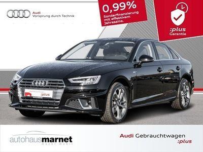 gebraucht Audi A4 Limousine sport 40 TFSI S line LED Einparkhilfe Navi Rückfahrkamera Sitzheizung