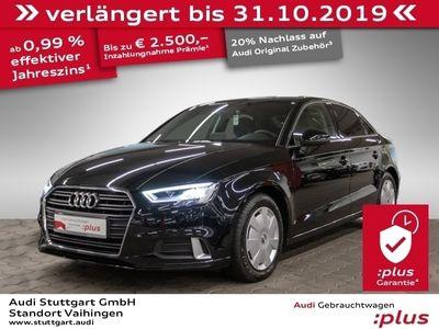 gebraucht Audi A3 Limousine 2.0 TDI sport LED Navigation