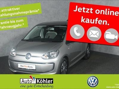 gebraucht VW e-up! Panorama-Schiebedach /ParkPilot H Navi Automatik Bremsass SD Sitzh. PDC Jazzgrau