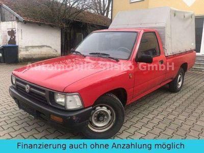 gebraucht VW Taro 2.4 D 4x4*PLANENAUFBAU*HÄNGERKUPPLUNG*