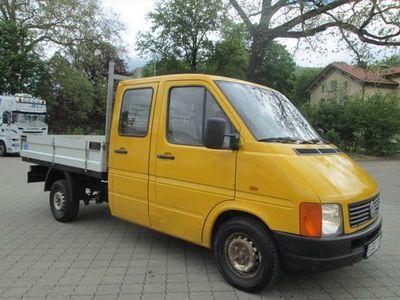 gebraucht VW LT 28 TD+PRITSCHE+AHK+7-SITZER+TÜV=03/2021