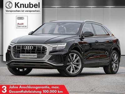 gebraucht Audi Q8 S line 50 qu Luftf. Stadt+Tour TopView VC LED Pano Keyless