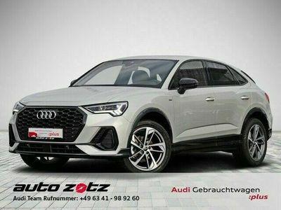 "gebraucht Audi Q3 Sportback S line 35 TFSI AHK LED 19"""