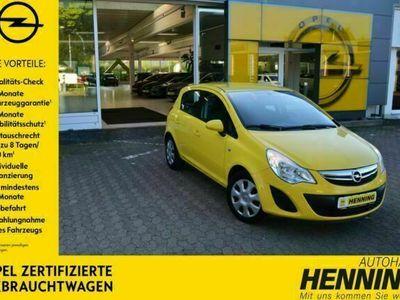 gebraucht Opel Corsa Edition 5T Klimaanlage + Garantie