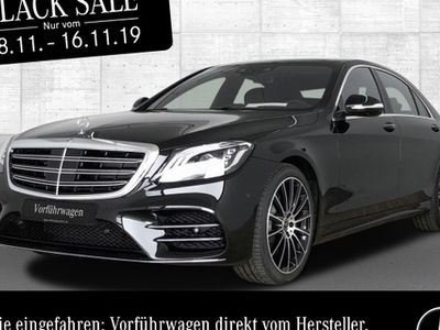 gebraucht Mercedes S560 L 4M Panoramadach 9G-TRONIC Kamera LED