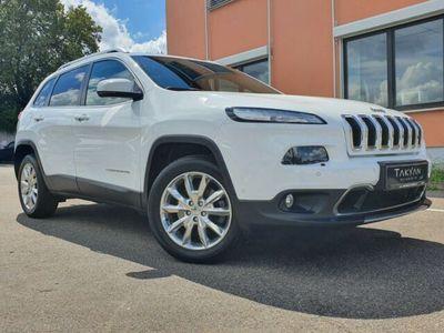 gebraucht Jeep Cherokee Limited 4WD /ABSTANDSTEMPOMAT/AHK/PANO.