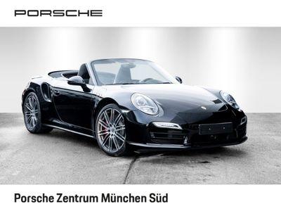 gebraucht Porsche 911 Turbo Cabriolet 991 3.8 Sport Chrono Paket