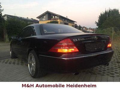 gebraucht Mercedes 500 CL-CoupeVoll Voll