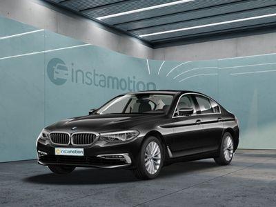 gebraucht BMW 520 520 d Luxury LineLEDNaviSchiebedachHI-FIHUDLedermemory