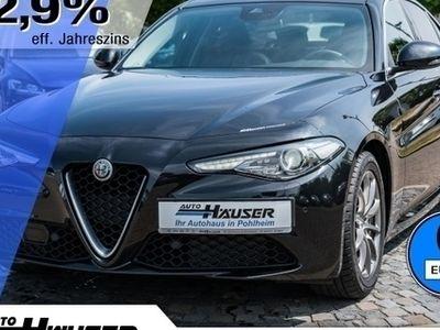 gebraucht Alfa Romeo Giulia Super 2.2 Diesel AT8 PANO 3D-NAVI LEDER (Xenon Kli