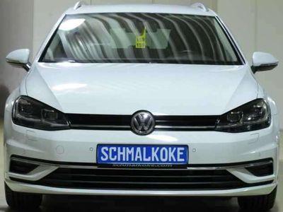 gebraucht VW Golf VII Variant 1.6 TDI Sound Navi Climatronic