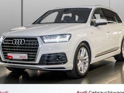 gebraucht Audi Q7 3.0 TDI quattro tiptronic Navi Virtual 2xAssistenz Aluoptik MMI plus ACC AIR