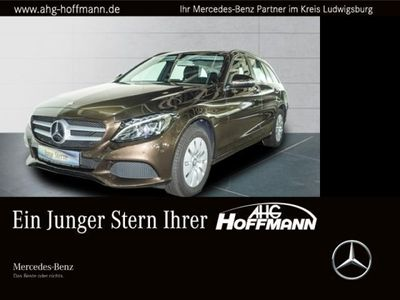 gebraucht Mercedes C200 BT T LED+AHK+PDC+Tempo+el.Sitze+Klima+SHZ