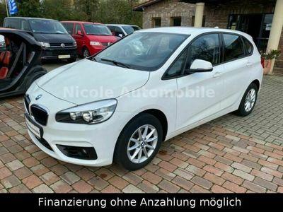 gebraucht BMW 218 Active Tourer d Advantage+Klima+