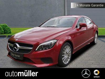 gebraucht Mercedes CLS350 d Sitzklima+360°+LED+Navi+PDC