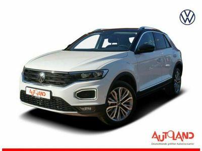 gebraucht VW T-Roc 1.5 TSI DSG 2-Zonen-Klima Navi Sitzheizung