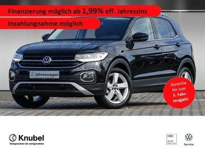 gebraucht VW T-Cross - Style 1.0 TSI DSG LED*Nav*SHZ*Garantie