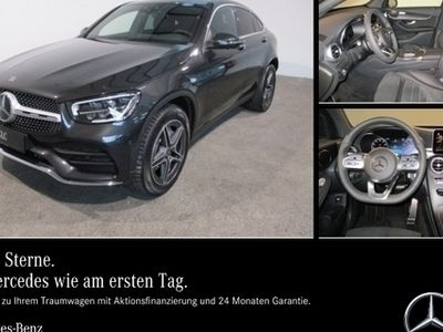gebraucht Mercedes GLC300 4M Coupé AMG,PDC,LED,Distronic,eSD,360°