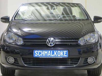 gebraucht VW Golf Cabriolet VI TDI1.6 BMT Cup Leder AHK Standhzg