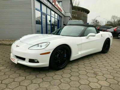 "gebraucht Corvette C6 6.2 V8 Cabrio Autom./Head-Up/Alu 20""Z51 Paket als Cabrio/Roadster in Hamburg"