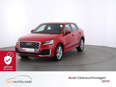 gebraucht Audi Q2 Sport 2.0 TDI quattro S tronic S Line LED S line*LED schwarz