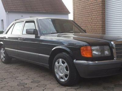 gebraucht Mercedes 420 Schwarz Leder Schwarz Deutsches Fahrzeug