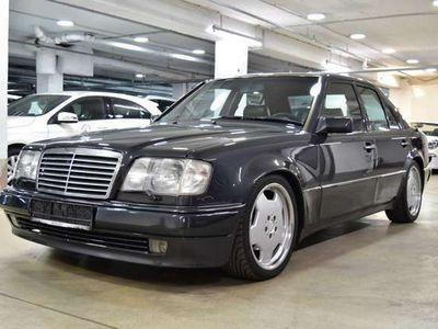 gebraucht Mercedes E500 W124, guter Zustand, dt. Ausführung, SHD, Leder