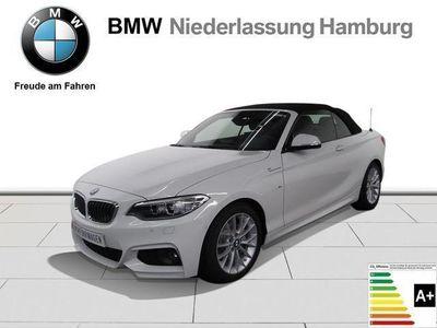 gebraucht BMW 220 d Cabrio Navi MSportpaket Verkehrsschildera.