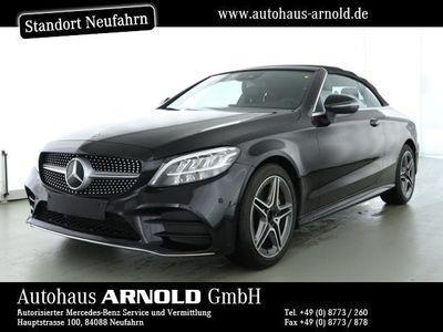 gebraucht Mercedes C180 Cabrio AMG-Line Kamera LED Navi DAB Sitzh.