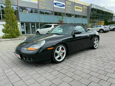 gebraucht Porsche Boxster S * Schalter * Leder * Sitzheizung *