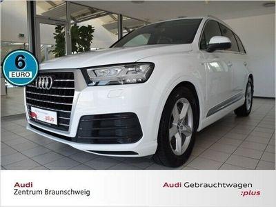 gebraucht Audi Q7 3.0 TDI quattro S Line Navi Standheizung